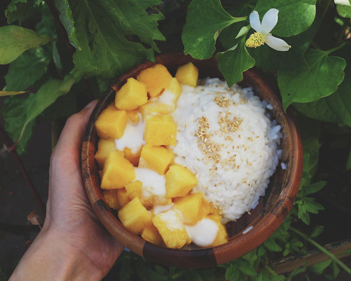 Kokosowy ryż z mango   Pyza made in Poland