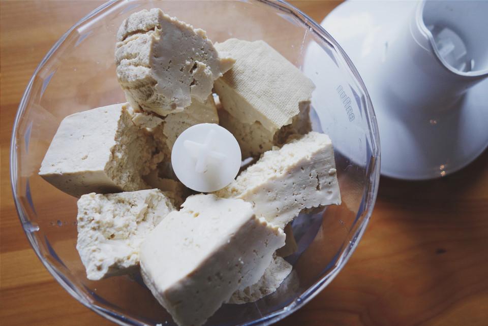 tofu flan