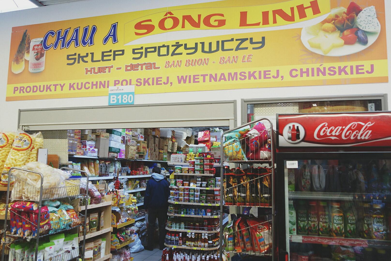 Sklep Wietnamski Centrum Handlowe Marywislka 44 Pyza