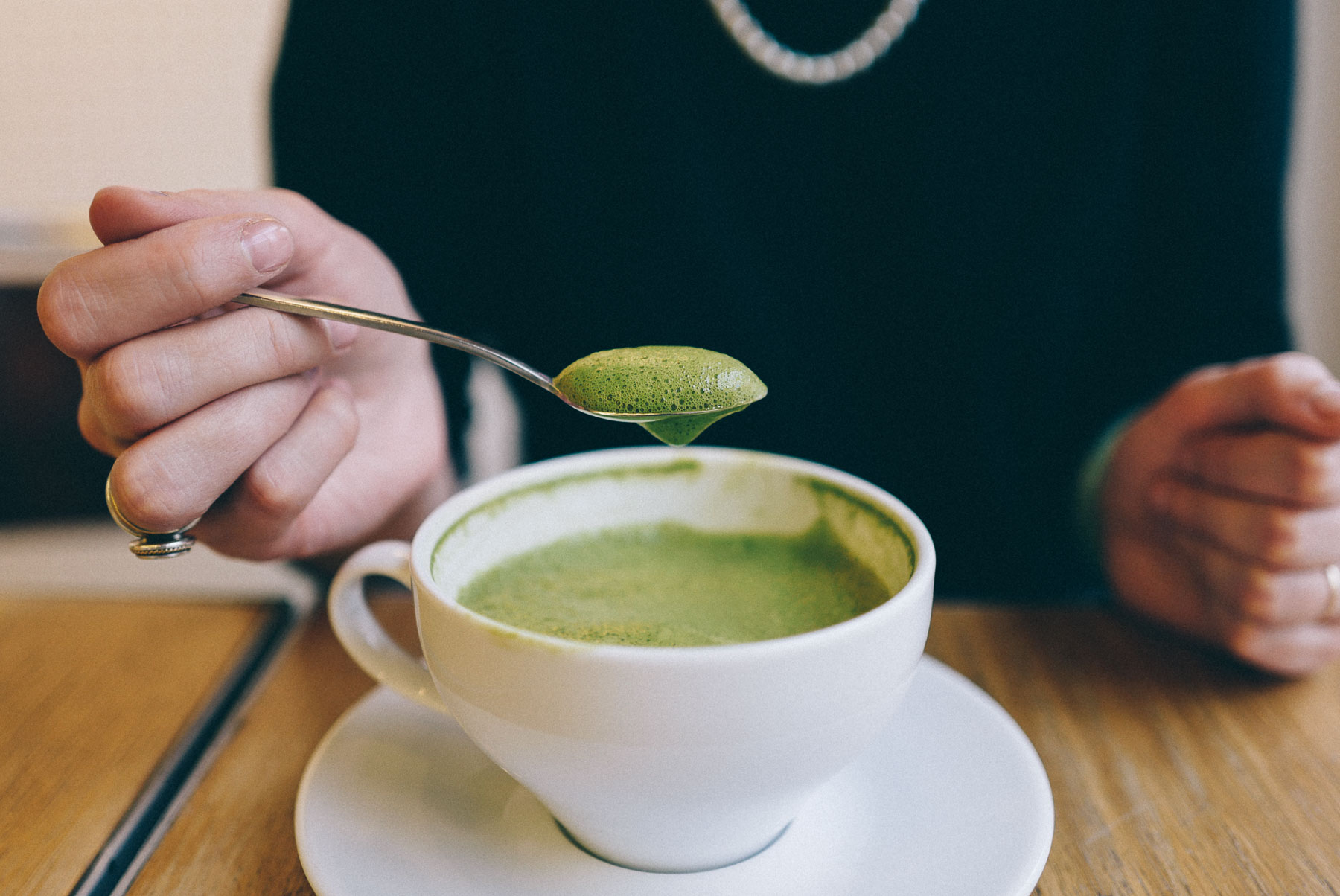 Warszawski ranking matcha latte | Pyza made in Poland