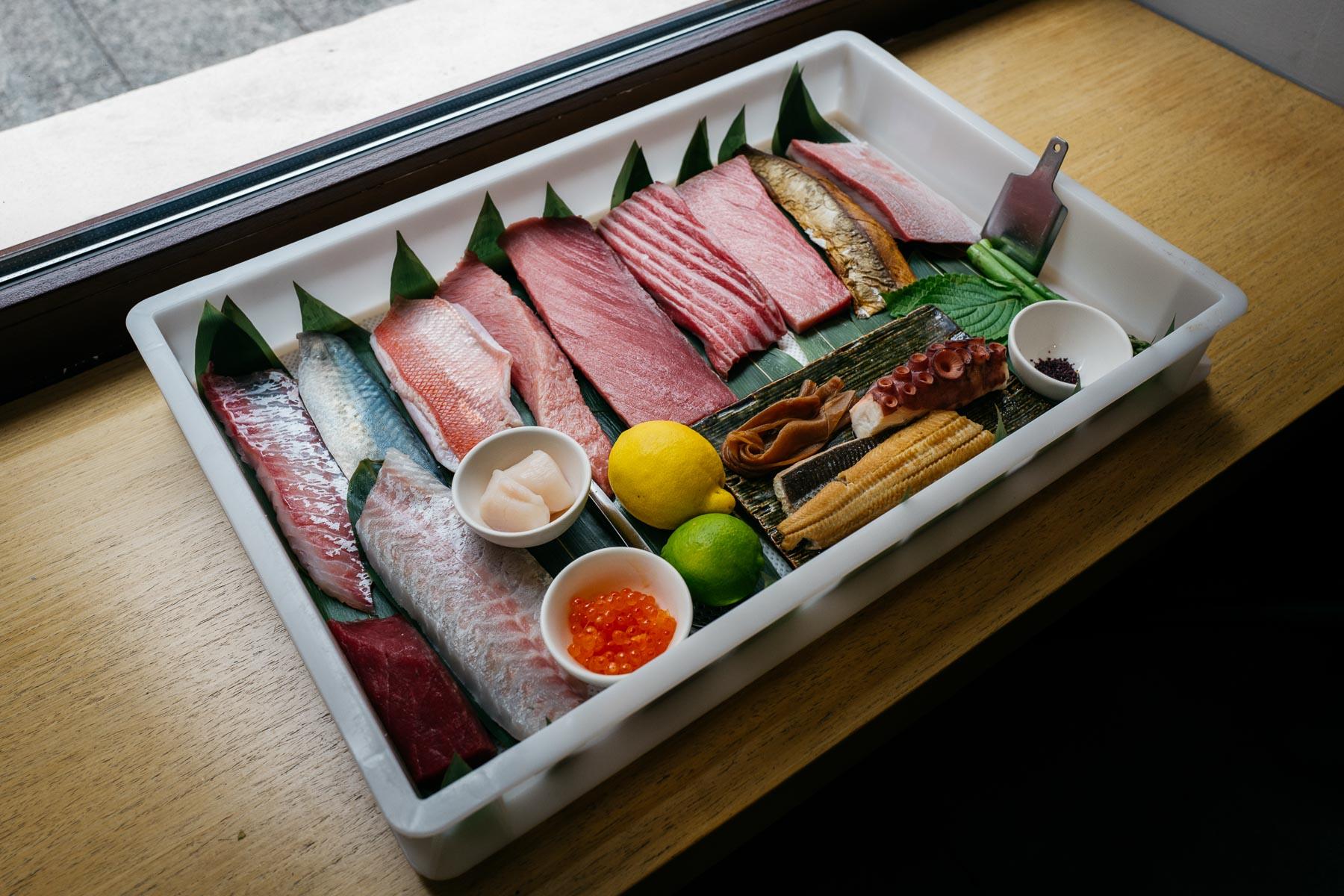 neta box (Ato Sushi)