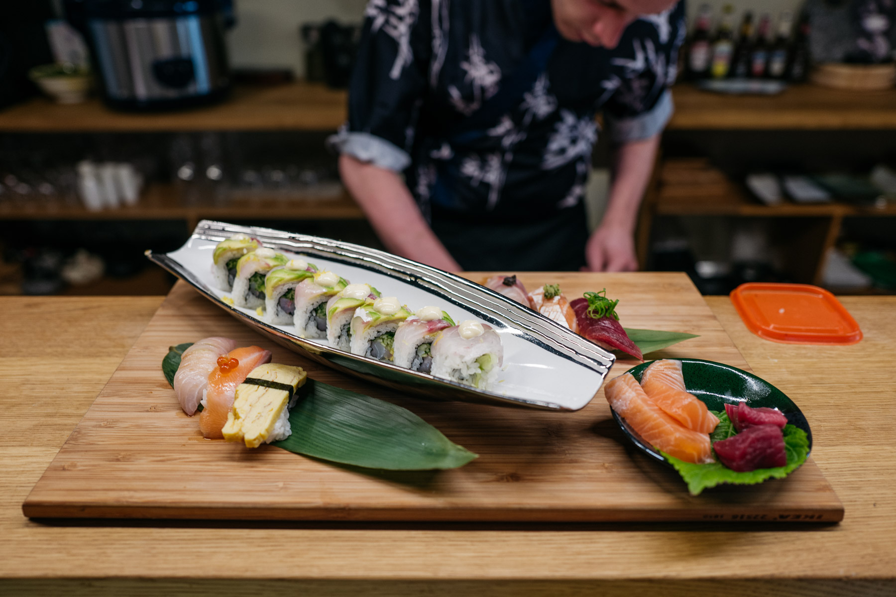 zestaw sushi (Sushiya)
