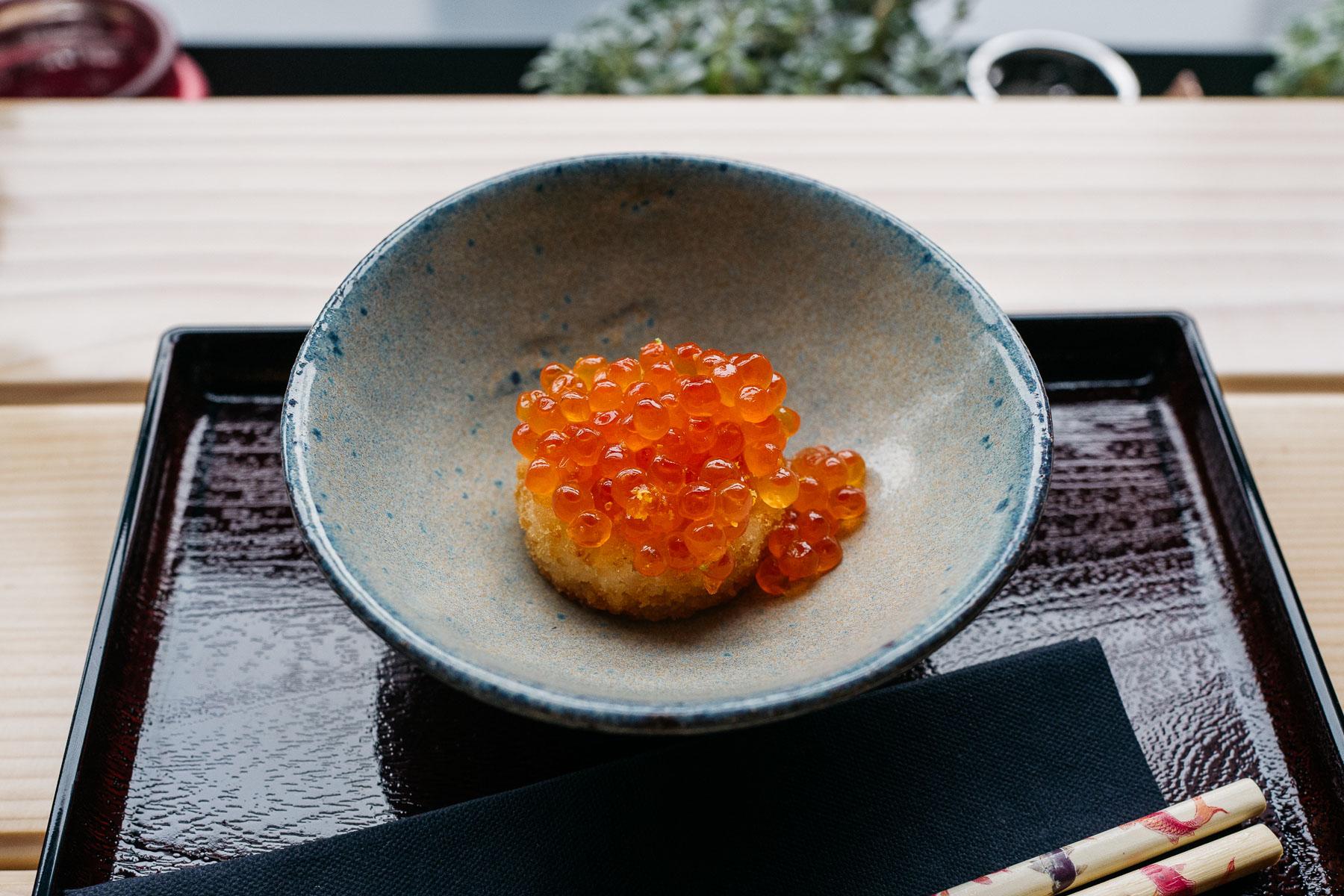 kawior / ryż / yuzu