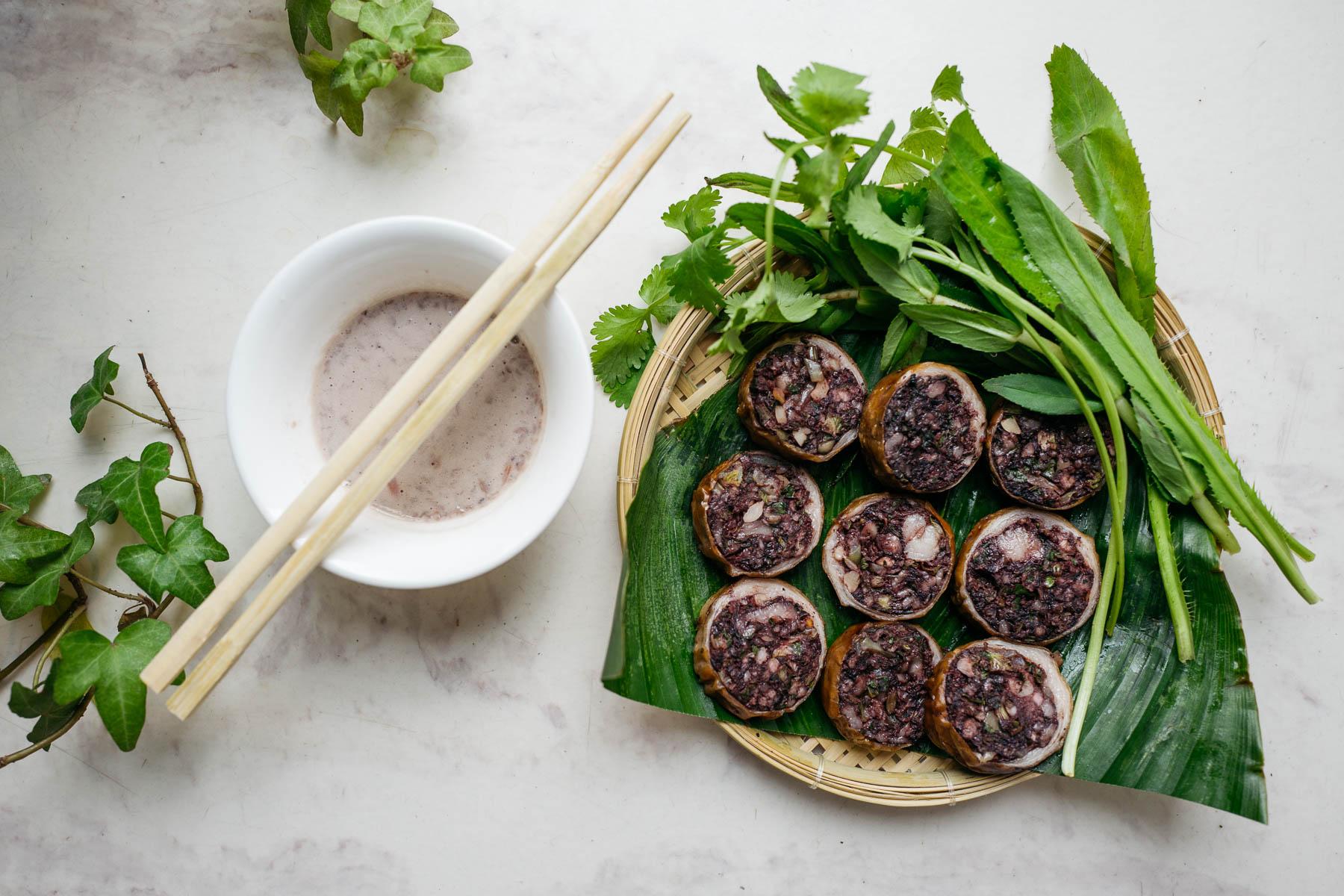 kaszanka w stylu wietnamskim (dồi)