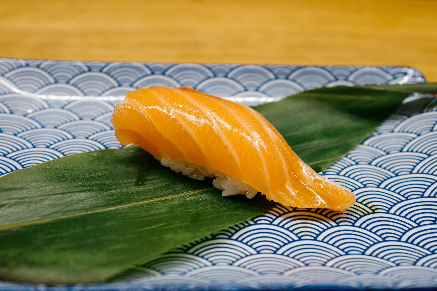 Sake hara (brzuch łososia)