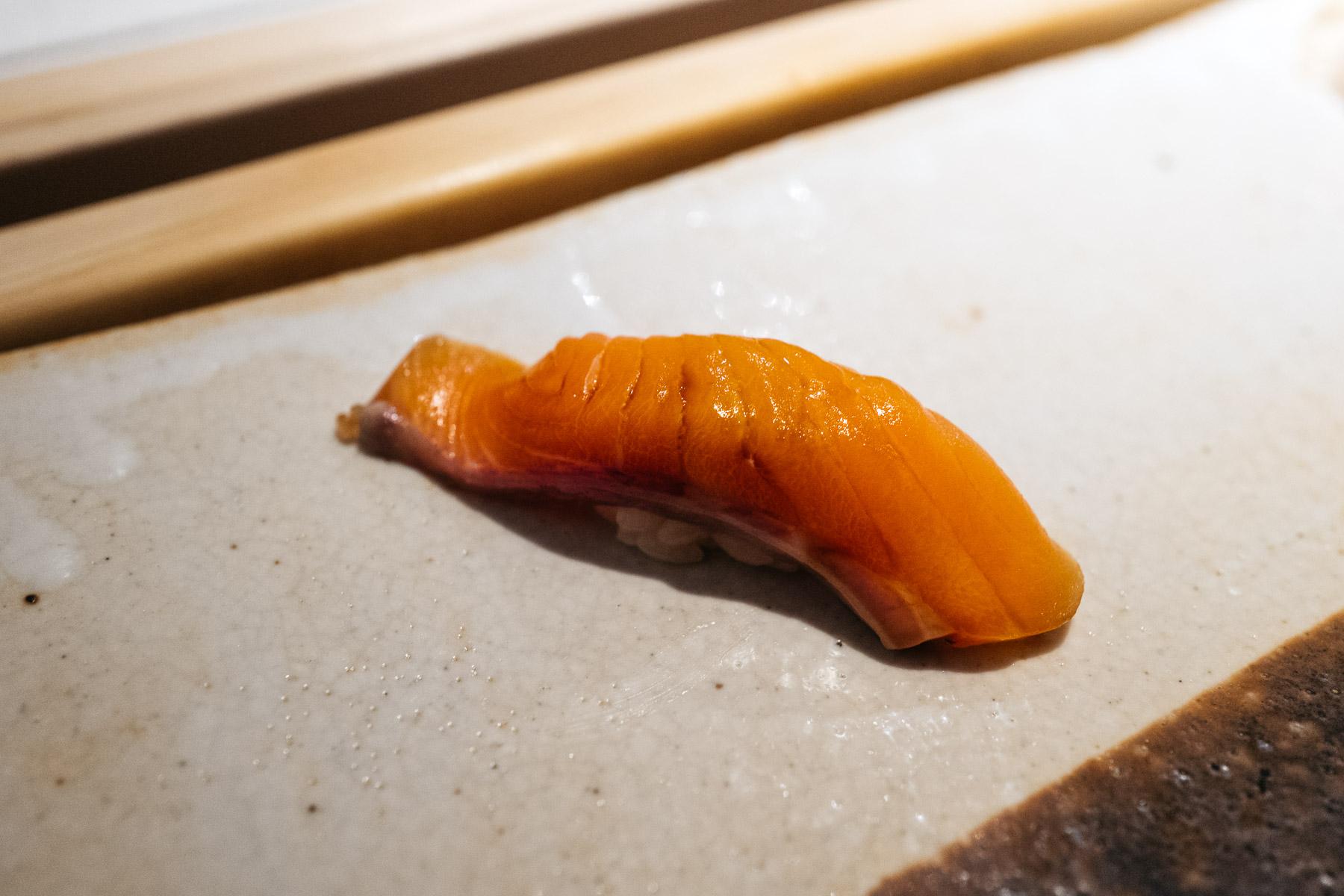 """""""toki shirazu"""" (keta - rodzina łososiowatych)"""