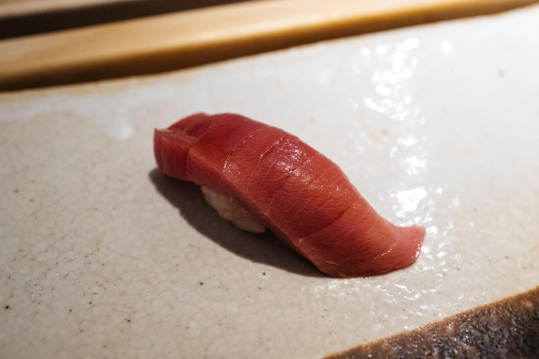 Chutoro (średniotłusta część tuńczyka)