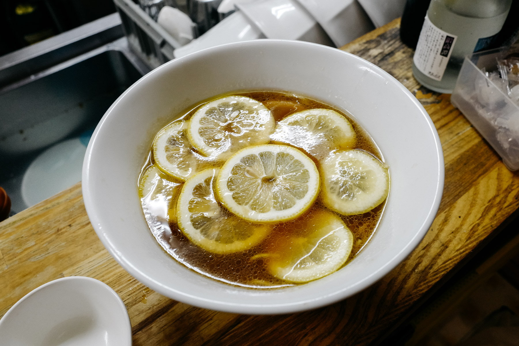 lemon shoyu ramen