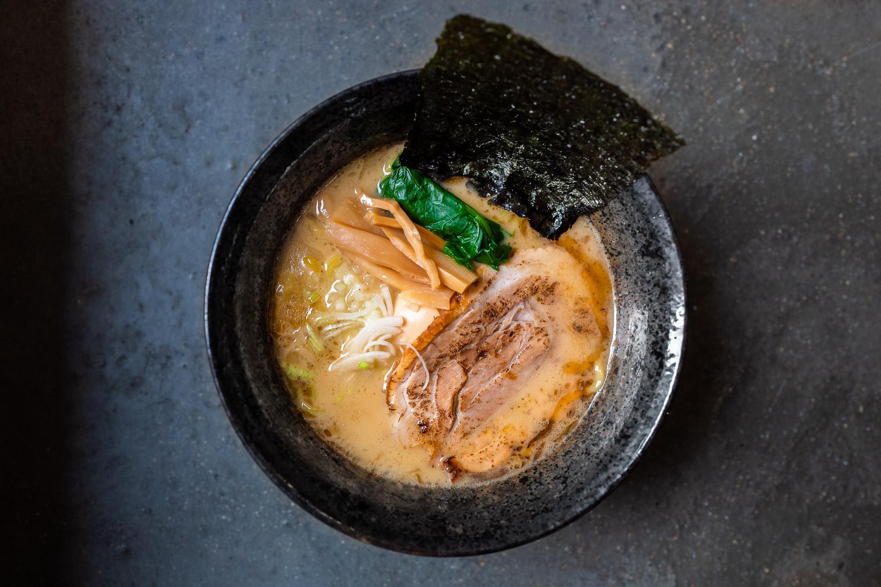 tonkotsu yokohama style ramen