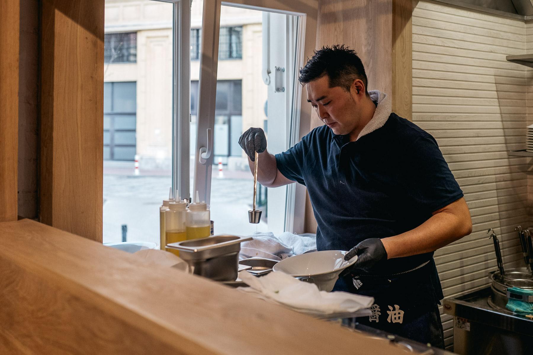 Kohei Yagi - współwłaściciel i szef kuchni w Uki Green
