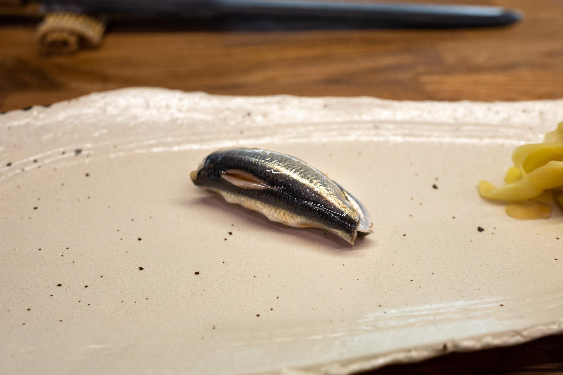 iwashi (sardynka) z nikiri