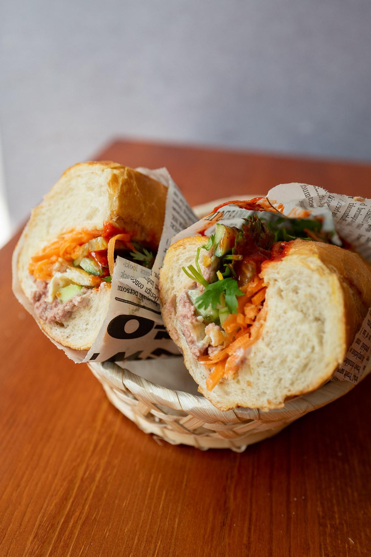 bánh mì pâté - 15 zł