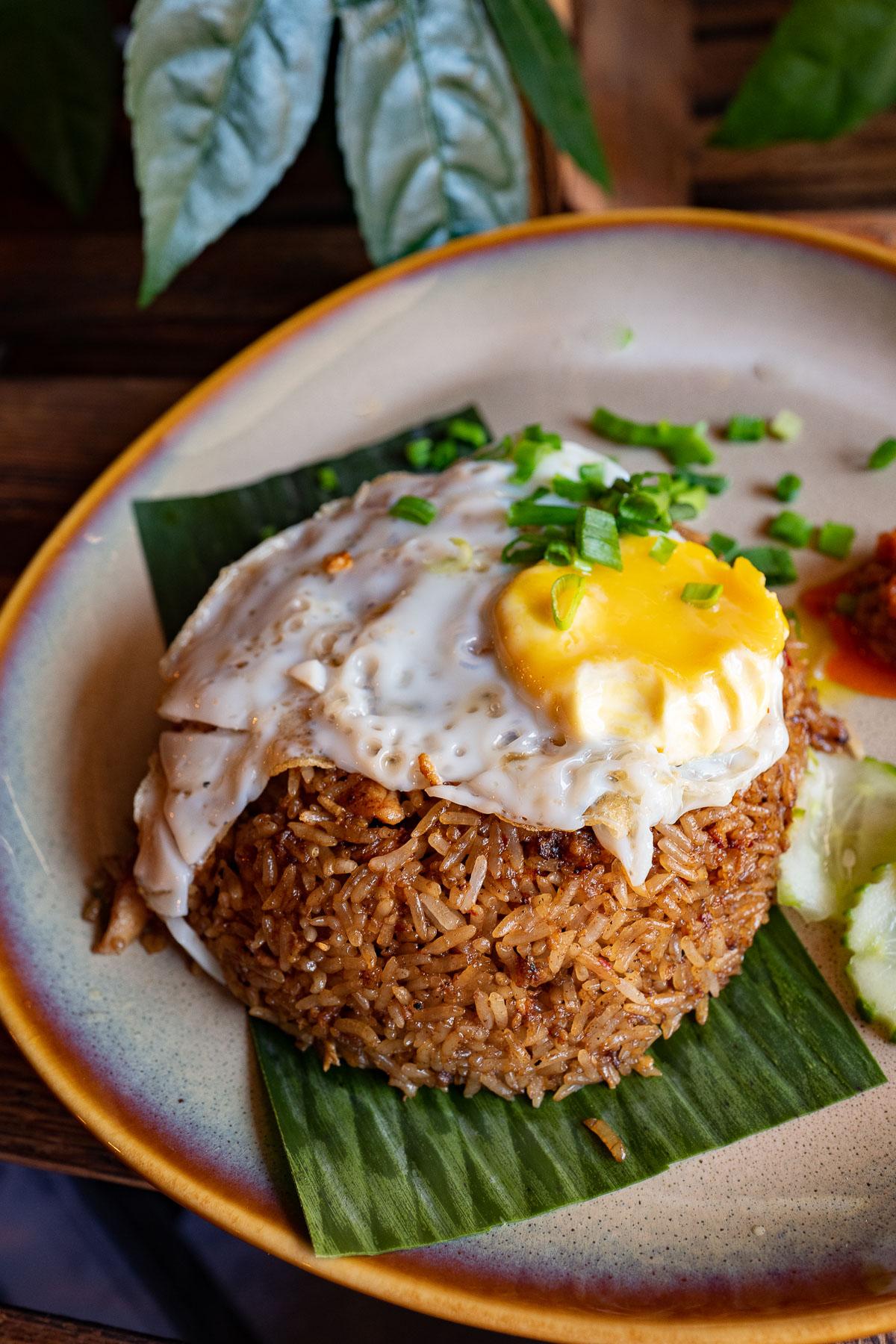 smażony ryż - nasi goreng ayam