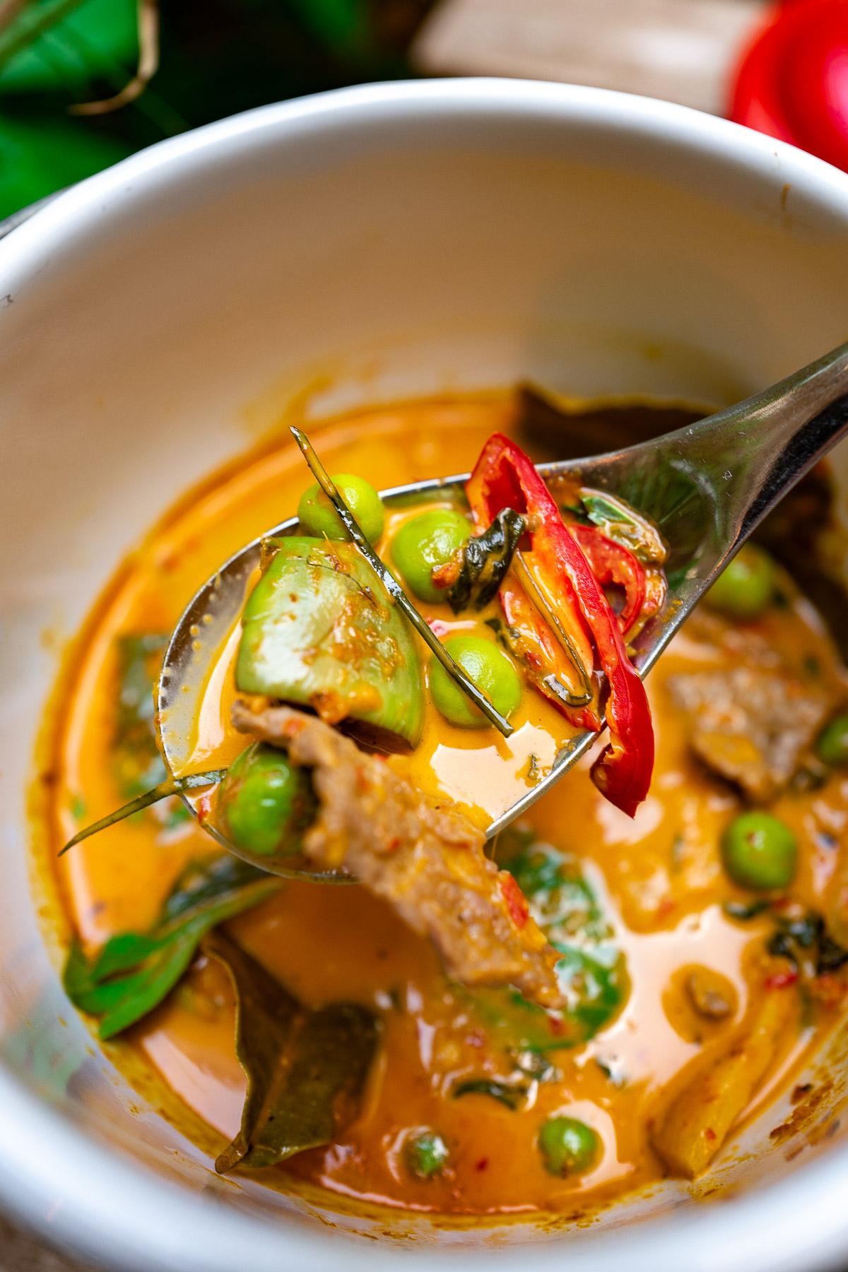 curry czerwone - 32-36 zł
