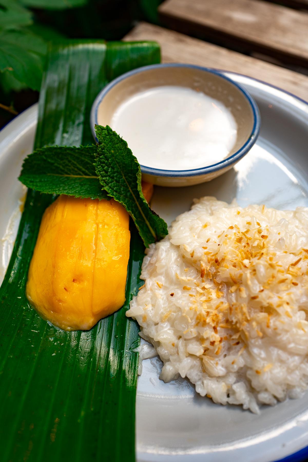 mango sticky rice - 24 zł