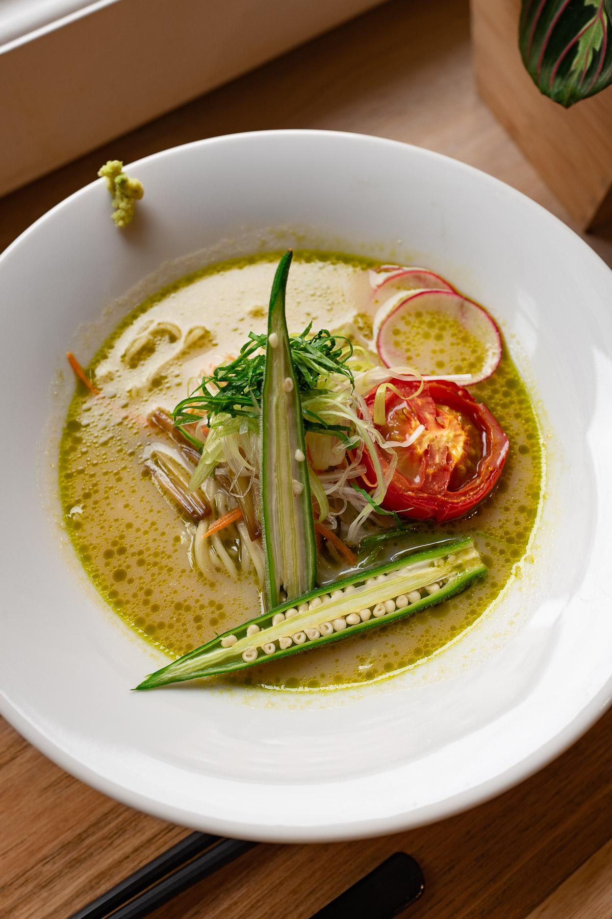 green wasabi ramen - 35 zł