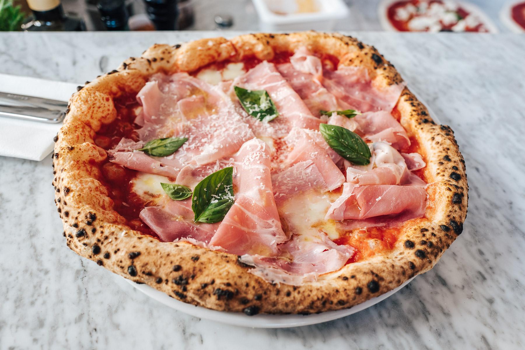 pizza cotto