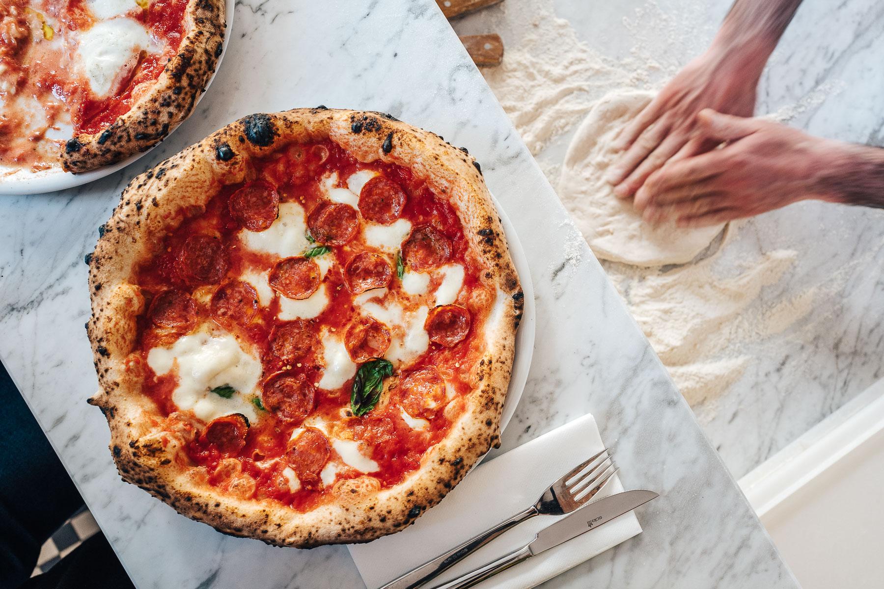pizza diavola