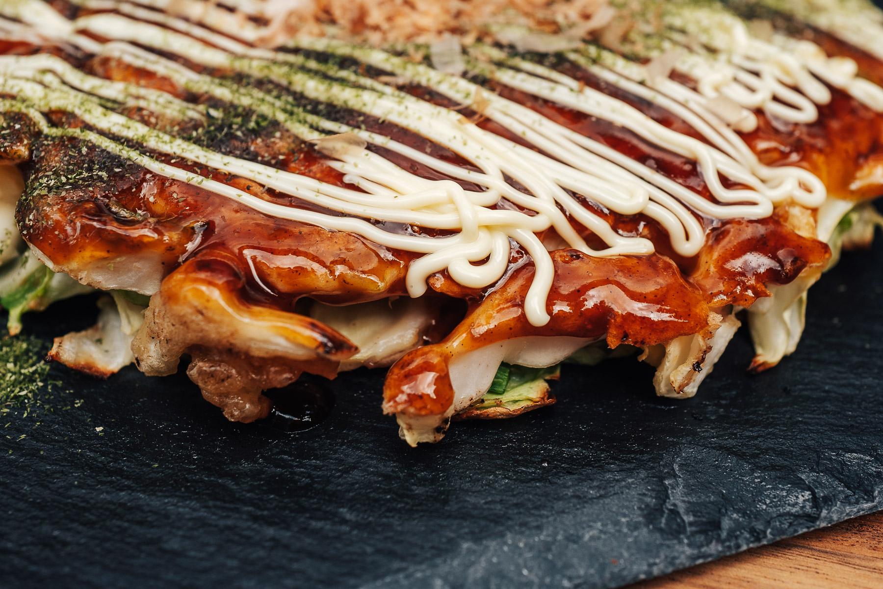 okonomiyaki w stylu z Osaki