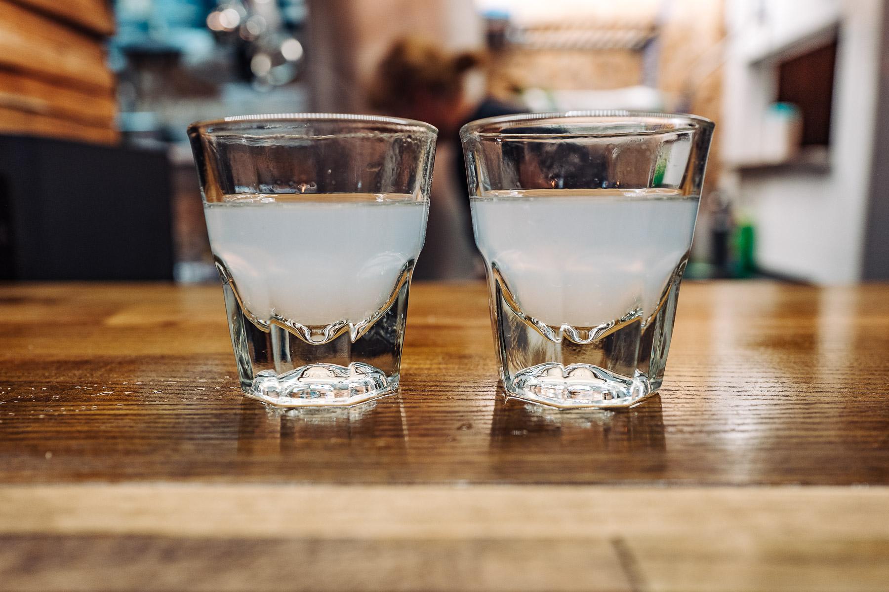 sobayu - gorąca woda po gotowaniu soby